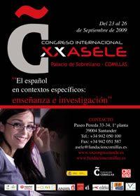 XX congreso de ASELE en Comillas