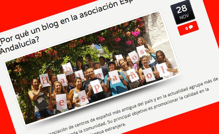 Español en Andalucia blog