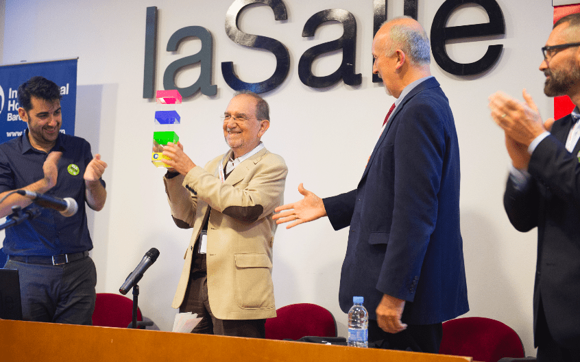 Prize for an outstanding academic career in the teaching of Spanish