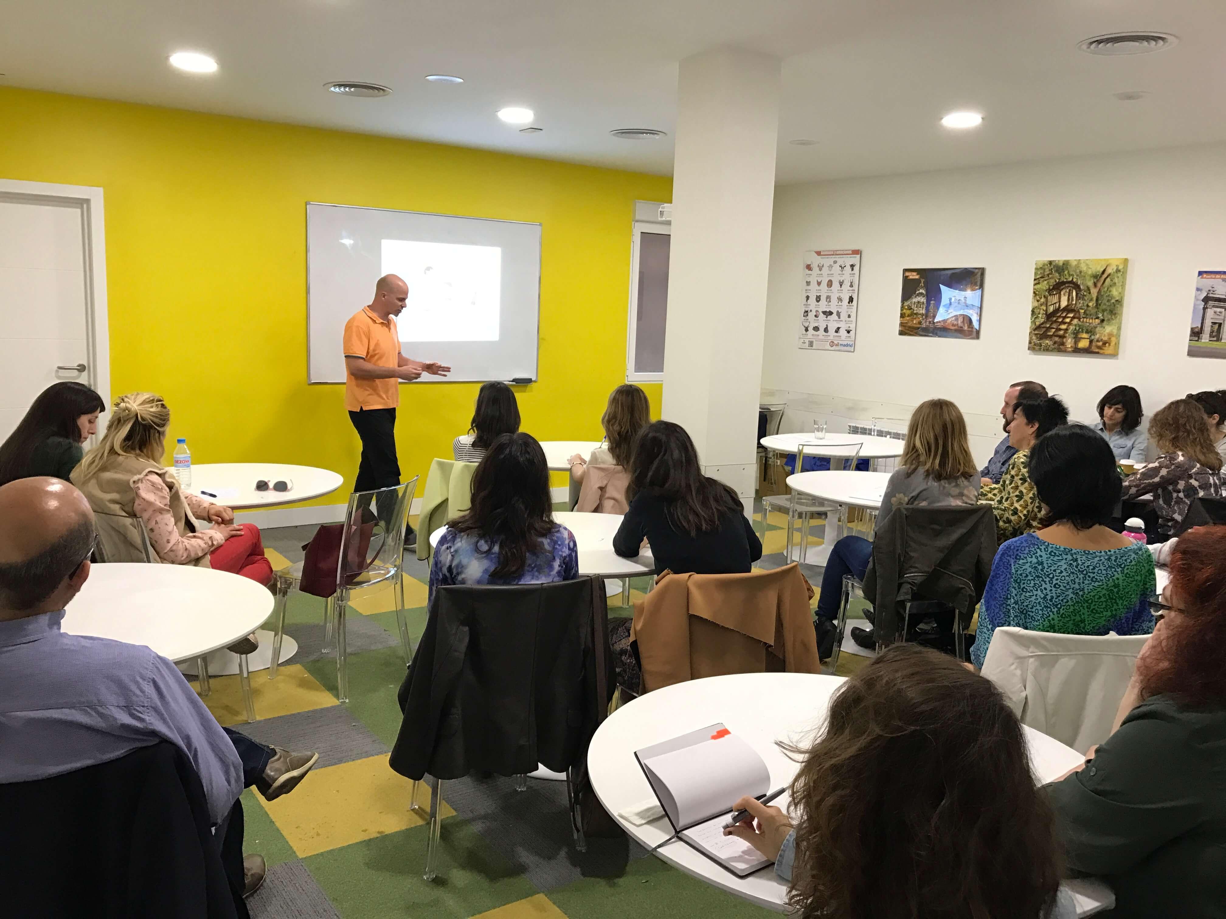 Jornada de formación para profesores ELE en Madrid