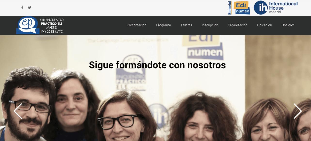 XVIII Encuentro Práctico ELE en Madrid