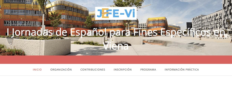 I Jornadas de Español para Fines Específicos en Viena