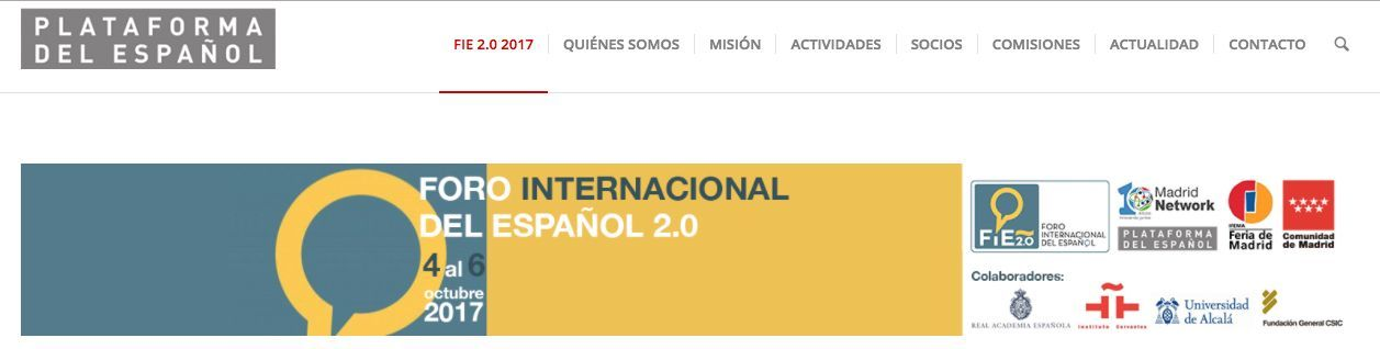 FEDELE to take part in the International Forum of Spanish 2017