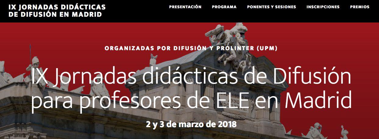 Jornadas Difusión Madrid