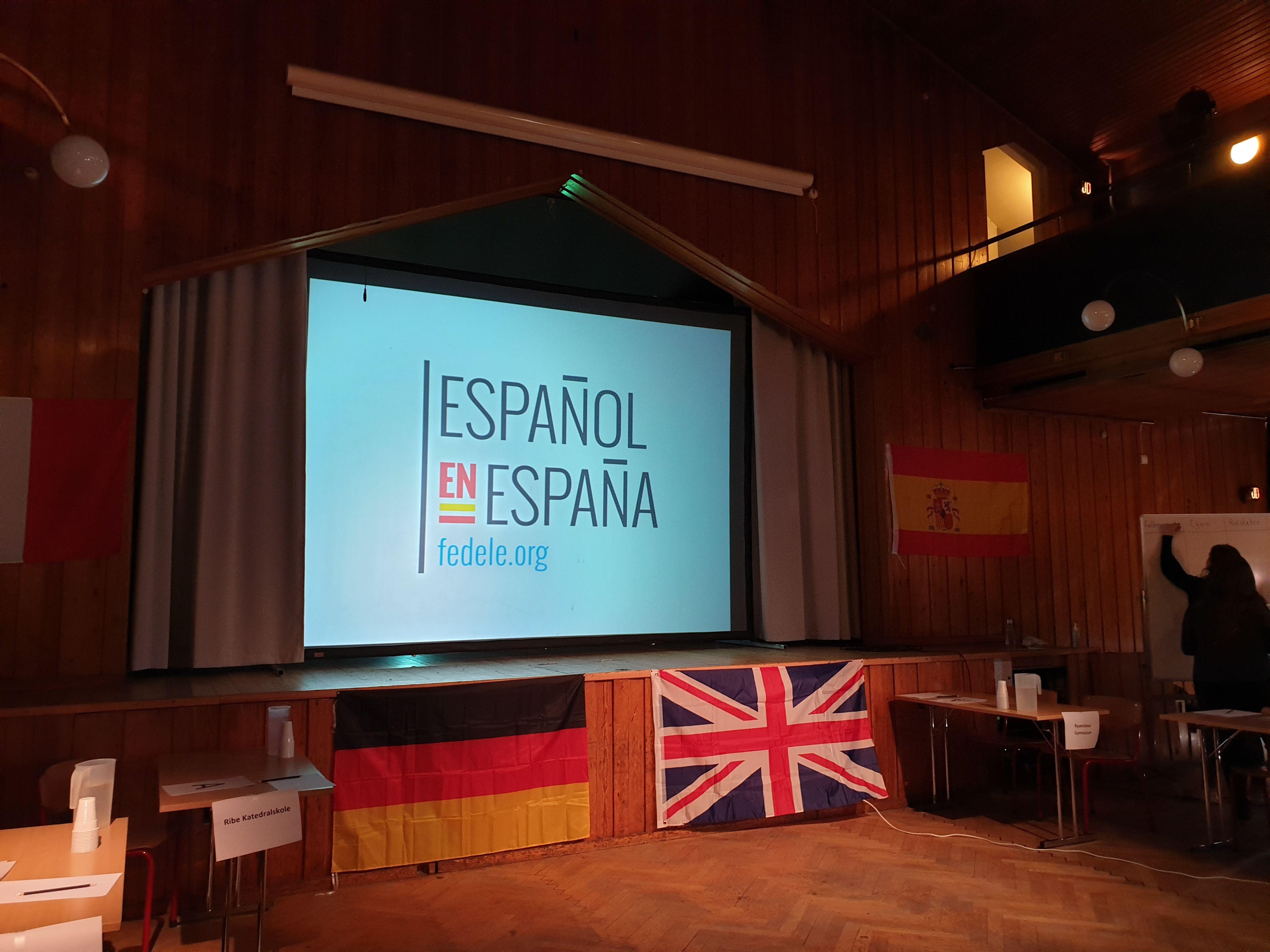 Final de las Olimpiadas del español en Dinamarca