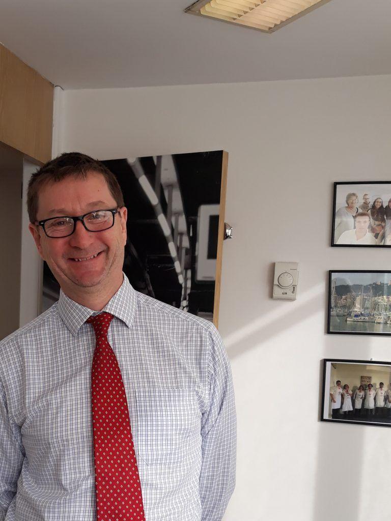 Entrevista a George Napier, presidente de Fedele Baleares