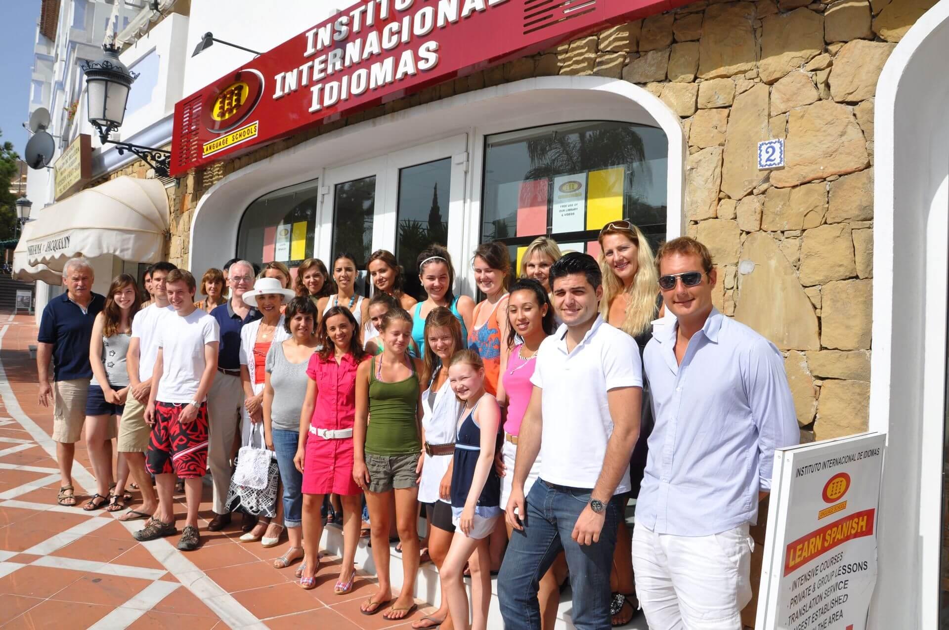 iiischools nueva andalucia alumnos
