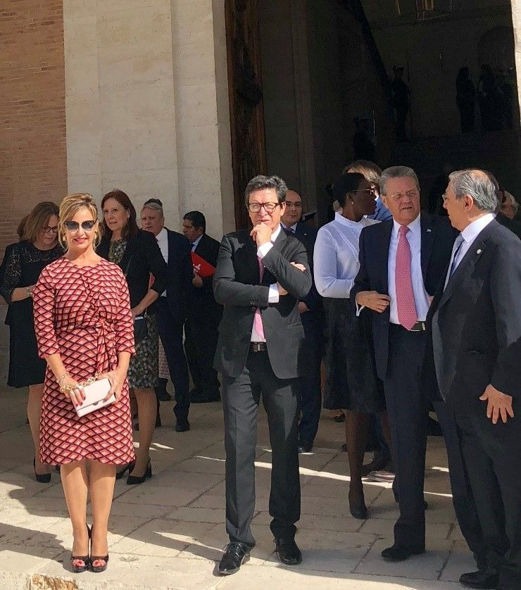FEDELE takes part in the annual meeting of the Honorary Board of Trustees of the Instituto Cervantes