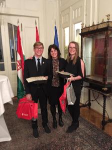 Entrega premios Embajador de España Hungria 2