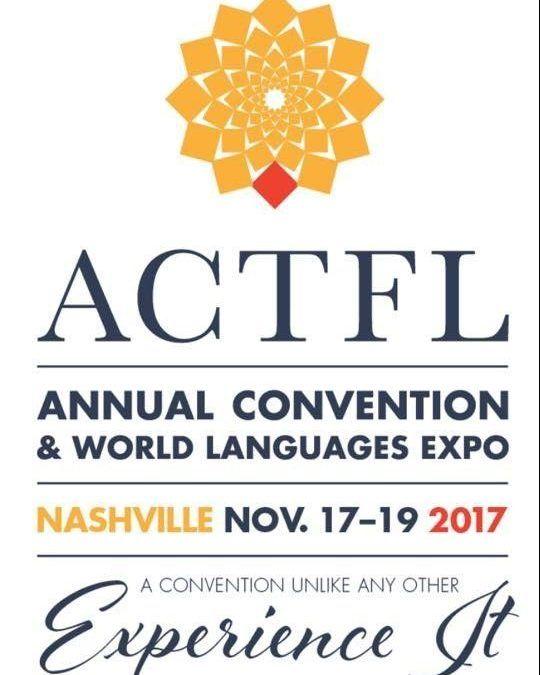 FEDELE PARTICIA EN ACTFL 2017- NASHVILLE