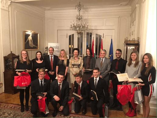 Entrega de premios Embajador de España en Hungría 2018