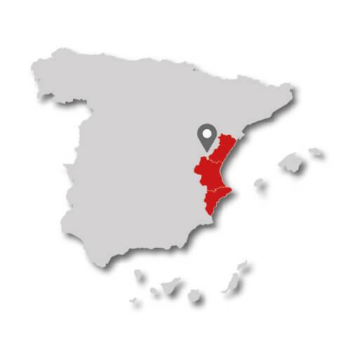espanol c valenciana mapa provincias