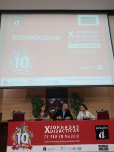 X Jornadas didácticas de difusión en Madrid 1