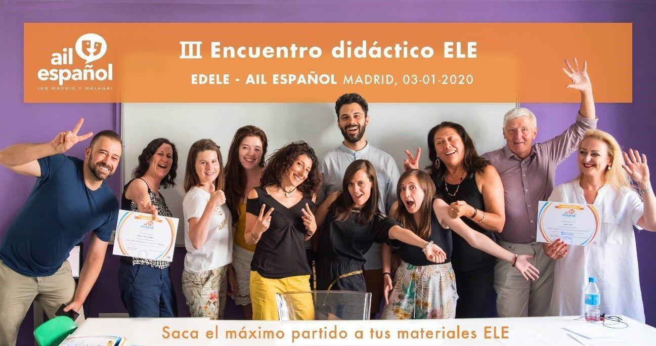 III Encuentro didáctico EDELE de AIL Español
