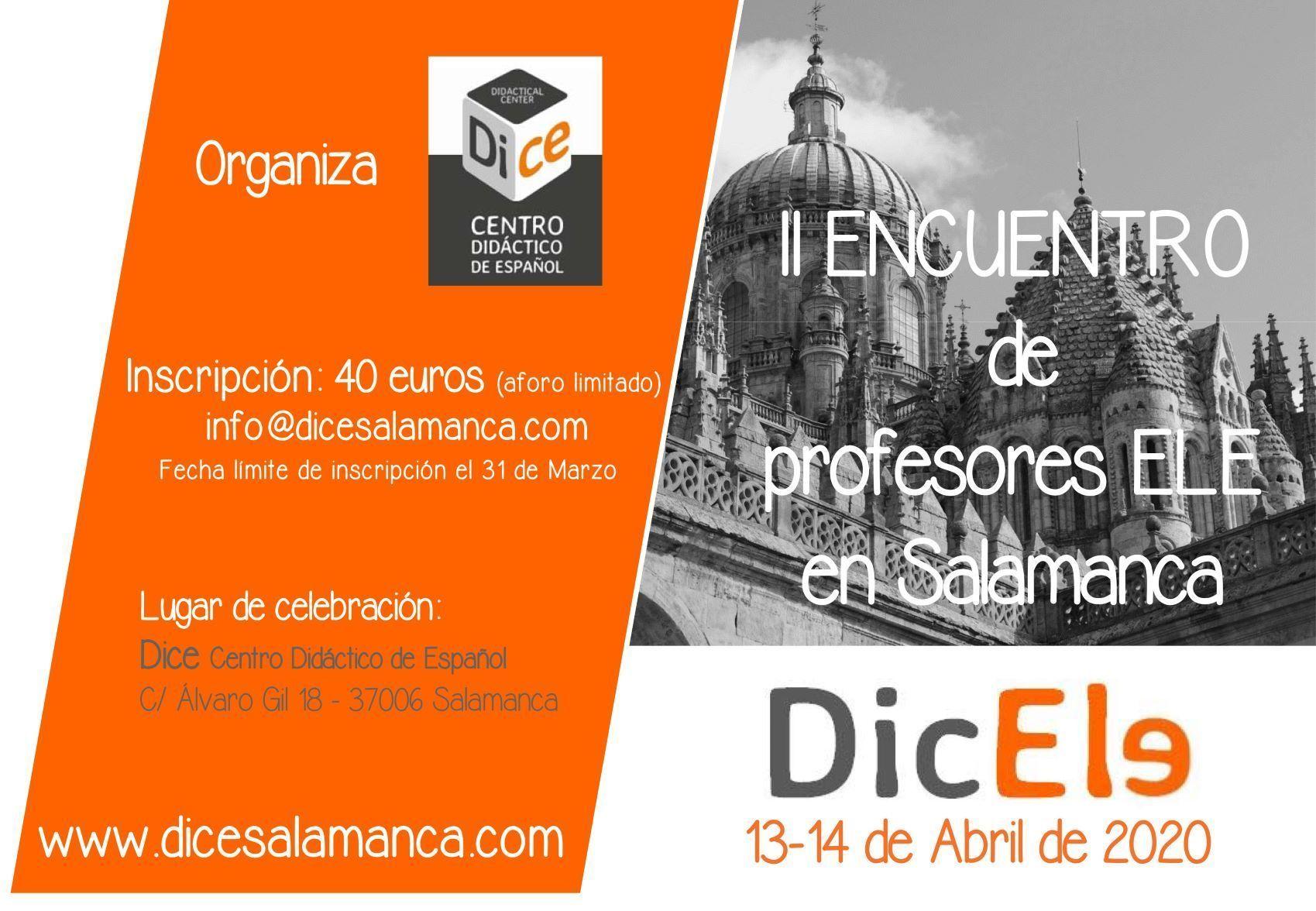 Evento de DICE Salamanca para profesores