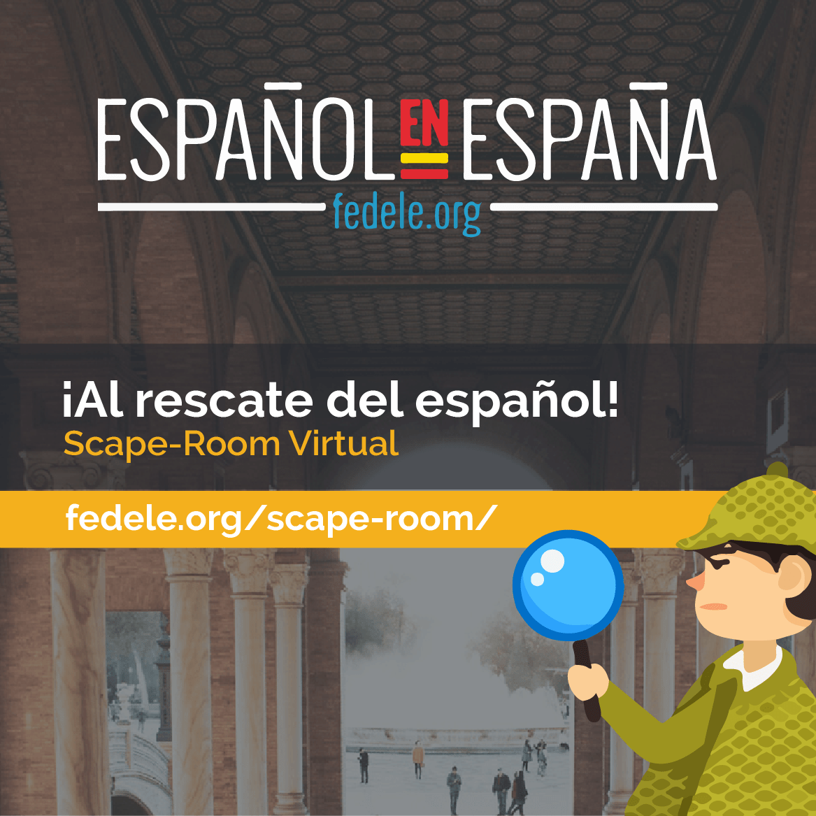 Scape-room: To the rescue of Spanish!