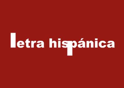 Letra Hispánica