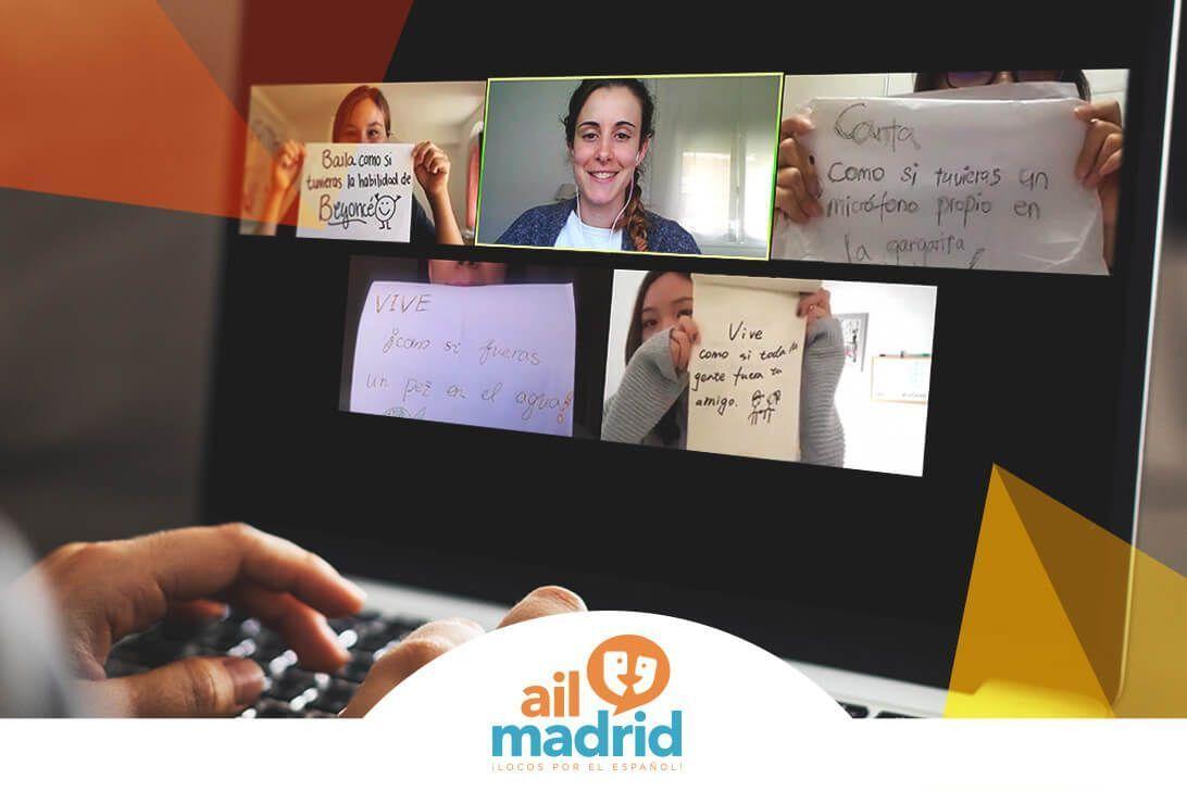 Programa de español para grupos escolares de inmersión cultural y lingüística online: el punto de vista de una profesora