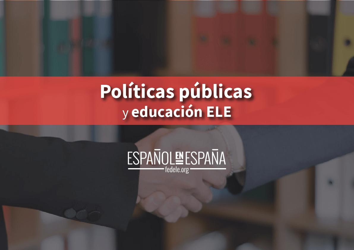 Políticas públicas y educación ELE