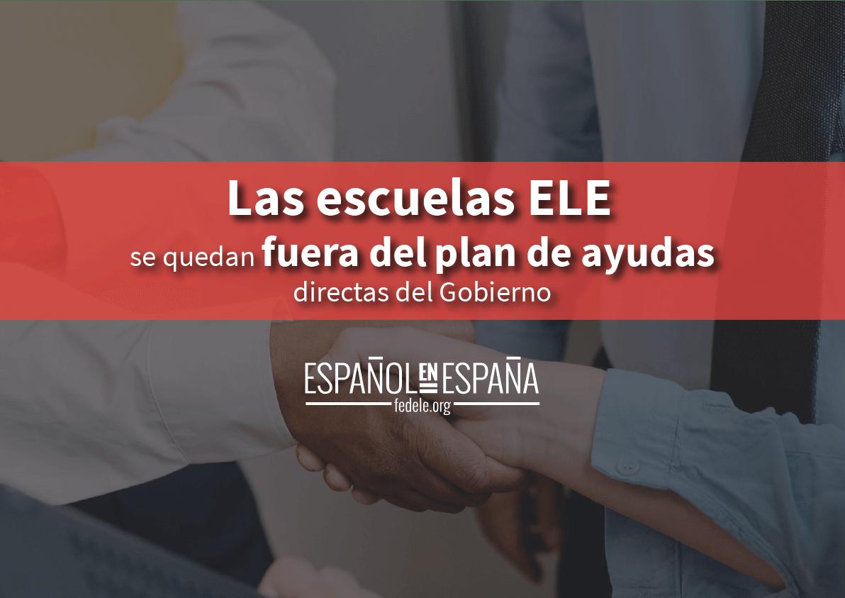 Las escuelas de español para extranjeros se quedan fuera del plan de ayudas directas del gobierno